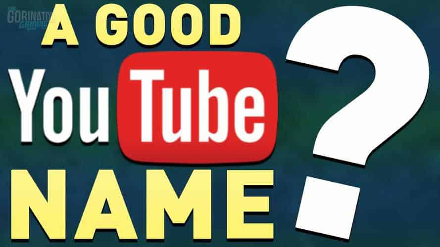 Best YouTube Channel Name