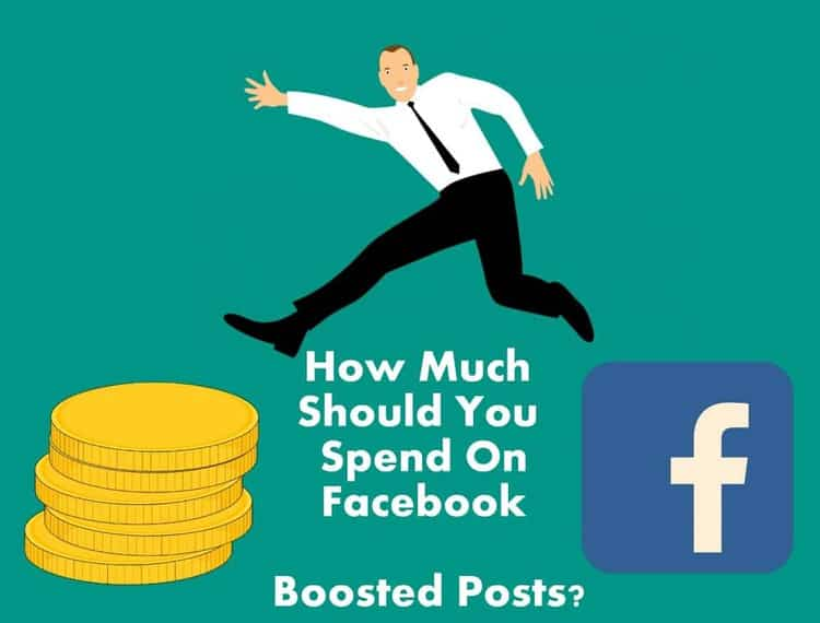facebook boost post cost