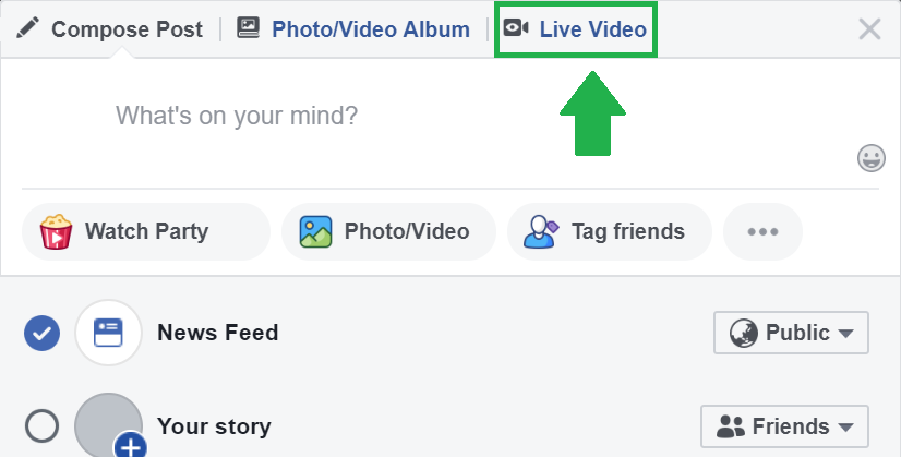 stream to facebook and instagram at the same time