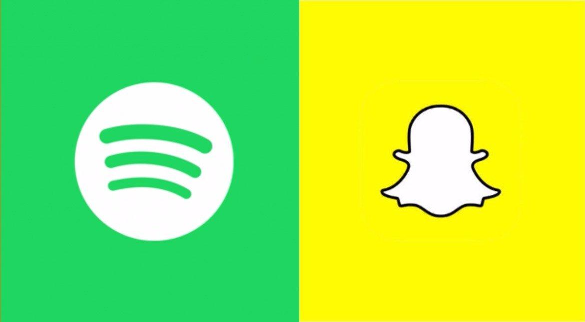 Spotify and Snapchat