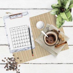 social media and marketing calendar