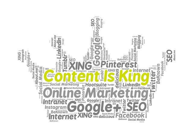 Content marketing in social networking