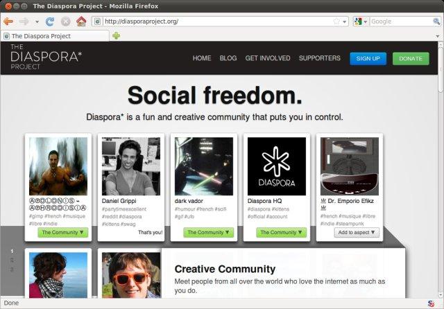 decentralized social network