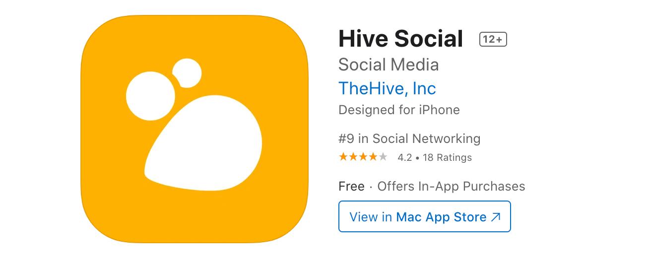 hive social media app