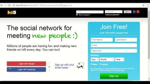 Hi5 Social App